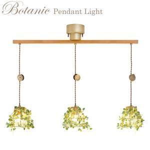 ボタニック ペンダントライト Fittonia 3灯 CC-40357【照明 LED対応 吊り下げ 植物 】 emiook