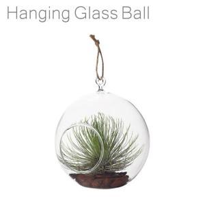 ハンギングガラスボールM|emiook