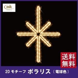 タカショー 2D MOTIFS ポラリス 電球色 emiook