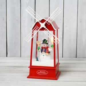 風車 スノーマン ライト ミュージック XRH-002【クリスマス特集 照明 雪だるま】|emiook