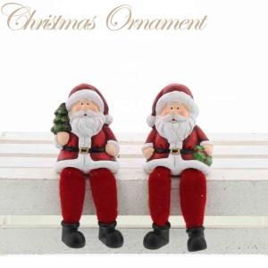 サンタ 2柄アソート XTO-102 (2体1セット)【クリスマス特集 紅石 雪だるま 陶器】|emiook
