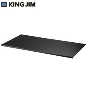 キングジム レザフェス デスクマット L 1967LF-BK 黒 KING JIM【160サイズ】|emon-shop