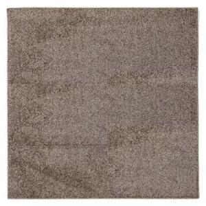 萩原 タフトラグ デタント(折り畳み) 約185X185cm 240611924 ブラウン【140サイズ】|emon-shop