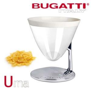 BUGATTI ITALY キッチンスケール 計量器 量り タイマー UMA SCALE-TIMER WHITE ブガッティ・イタリー 56-UMAC1-JP ホワイト【80サイズ】|emon-shop