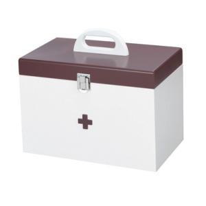 イシグロ 救急箱 大 60155 ブラウン【80サイズ】 emon-shop