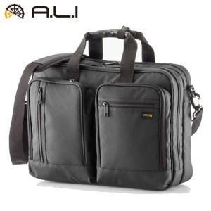 A.L.I ビジネスバッグ ビジネスカジュアル CORDURA ADC-3600-BK ブラック【100サイズ】|emon-shop