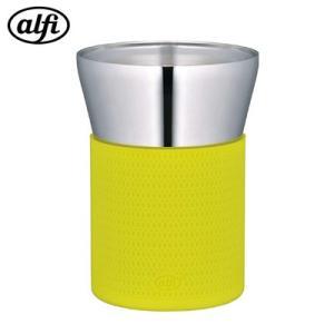 サーモス ステンレス製真空断熱タンブラー  0.26L アルフィ 食洗機対応 AFDC-260-APG アップルグリーン【60サイズ】|emon-shop