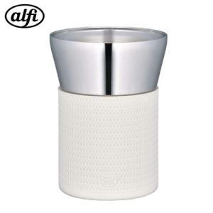 サーモス ステンレス製真空断熱タンブラー  0.26L アルフィ 食洗機対応 AFDC-260-AWH アルペンホワイト【60サイズ】|emon-shop