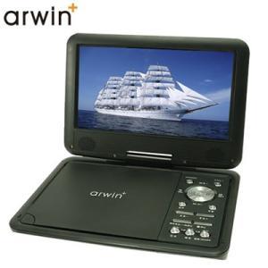 アーウィン 9インチ ポータブルDVD&マルチプレーヤー APD-903N【60サイズ】|emon-shop