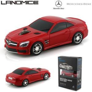 LANDMICE メルセデス ベンツ AMG 無線マウス 2.4G BENZ-SL63AMG-RE レッド【60サイズ】|emon-shop