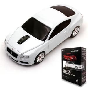 LANDMICE Bentley Continental GT V8 2.4G無線マウス 1750dpi ホワイト BT-GTV8-WH【60サイズ】|emon-shop