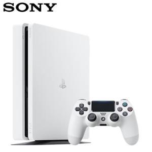 【新品】ソニー PS4 プレステ4 本体 500GB プレイステーション4 CUH-2200AB02 グレイシャー・ホワイト【120サイズ】|emon-shop
