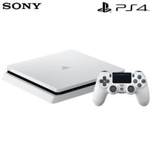 【新品】ソニー プレステ4 本体 1TB プレイステーション4 グレイシャー・ホワイト CUH-2200BB02 PS4【120サイズ】|emon-shop
