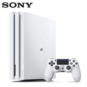 ソニー PS4 Pro 本体 プレステ4 Pro 1TB プレイステーション4 プロ CUH-7200BB02 グレイシャー・ホワイト【120サイズ】|emon-shop