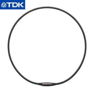 TDK 磁気ネックレス 42cm EXNAS エクナス D1 D1A-42BLK 黒【60サイズ】 emon-shop