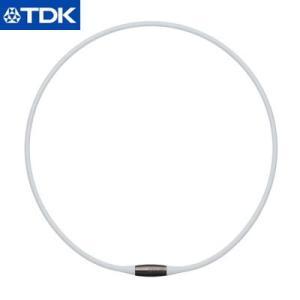 TDK 磁気ネックレス 42cm EXNAS エクナス D1 D1A-42WHT 白【60サイズ】 emon-shop