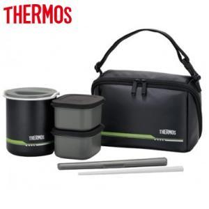 サーモス 約1合 保温弁当箱 DBQ-502 DBQ-502-MTBK マットブラック【80サイズ】|emon-shop