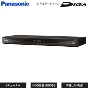 パナソニック ブルーレイディスク レコーダー レギュラーディーガ 1チューナー 500GB HDD内蔵 DMR-BRS530【120サイズ】|emon-shop