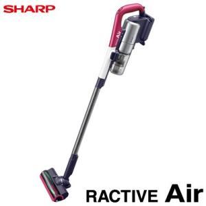 シャープ 掃除機 RACTIVE Air ラクティブ エア コードレスサイクロンタイプ スティッククリーナー EC-A1R-P ピンク系【140サイズ】|emon-shop