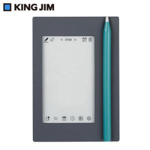 キングジム 気づかせメモ カクミル EM10-K ストーングレー×ターコイズ【60サイズ】|emon-shop