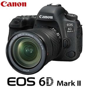 キヤノン デジタル一眼レフカメラ EOS 6D Mark II 24-105 IS STM レンズキット EOS6DMK2-24105ISSTM CANON【80サイズ】|emon-shop