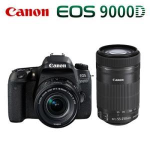 CANON デジタル一眼レフカメラ EOS 9000D ダブルズームキット 1891C003 EOS9000D-WKIT【100サイズ】|emon-shop