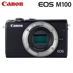 Canon キヤノン ミラーレス一眼 EOS M100 ボディー デジタルカメラ EOSM100BK-BODY ブラック【80サイズ】|emon-shop