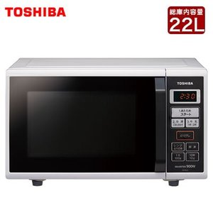 東芝 22L 電子レンジ ER-RS22-W ホワイト【120サイズ】 emon-shop