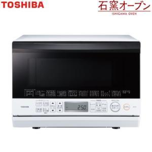 東芝 23L 角皿式スチームオーブンレンジ 石窯オーブン ER-T60-W グランホワイト【140サイズ】 emon-shop