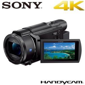 ソニー デジタル4Kビデオカメラレコーダー ハンディカム FDR-AX60 ブラック【80サイズ】|emon-shop