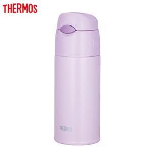 サーモス 水筒 0.4L 真空断熱ストローボトル FHL-401-LPL ライトパープル【60サイズ】 emon-shop