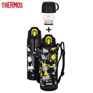 サーモス 水筒 1.0L 真空断熱2ウェイボトル FHO-1001WF-BK-PT ブラックペイント【80サイズ】 emon-shop