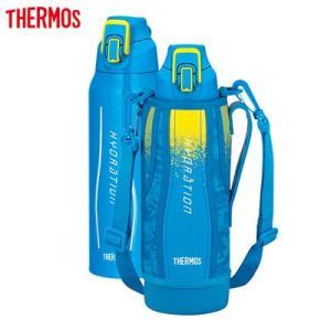 サーモス 水筒 1.0L 真空断熱スポーツボトル FHT-1000F-BL-C ブルーカモフラージュ【80サイズ】 emon-shop