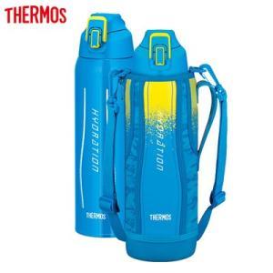 サーモス 水筒 1.5L 真空断熱スポーツボトル FHT-1500F-BL-C ブルーカモフラージュ【80サイズ】 emon-shop