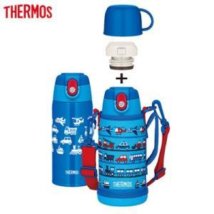 サーモス 水筒 0.6L 真空断熱2ウェイボトル FJA-600WF-LB ライトブルー【60サイズ】|emon-shop