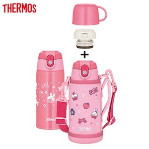 サーモス 水筒 0.6L 真空断熱2ウェイボトル FJA-600WF-LP ライトピンク【60サイズ】|emon-shop