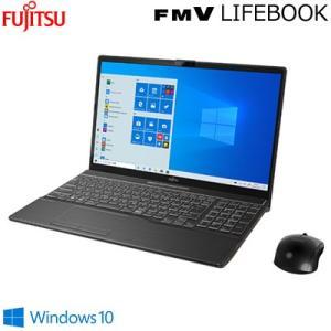 富士通 15.6型ワイド ノートパソコン FMV LIFEBOOK AHシリーズ Core i7 512GB SSD AH53/D3 FMVA53D3B ブライトブラック【100サイズ】|emon-shop