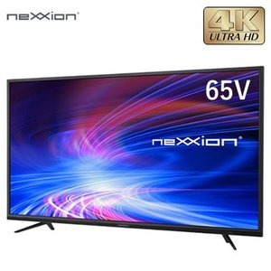 【設置無料】外付けHDD録画対応 65V型 4K対応 液晶テレビ FT-K6520B ネクシオン neXXion【300サイズ】|emon-shop