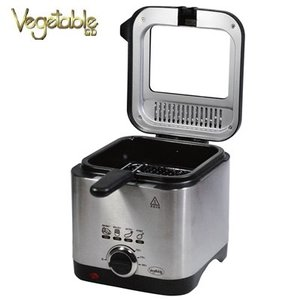 ベジタブル 電気コンパクトフライヤー GD-DF01 Vegetable 容量1.5L【160サイズ】|emon-shop