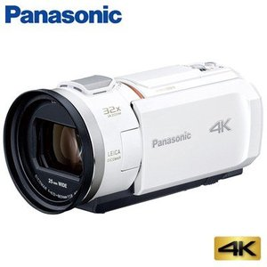 パナソニック デジタル 4K ビデオカメラ 64GB 4K PREMIUM HC-VX2M-W ピュアホワイト【60サイズ】|emon-shop