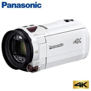 パナソニック デジタル 4K ビデオカメラ 64GB 4K AIR HC-VX992M-W ピュアホワイト【60サイズ】|emon-shop