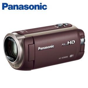 【即納】パナソニック デジタルビデオカメラ 32GB フルハイビジョン ワイプ撮り HC-W580M-T ブラウン【80サイズ】|emon-shop