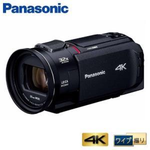 パナソニック デジタルビデオカメラ 4K ワイプ撮り 64GB HC-WX1M-K ブラック【80サイズ】|emon-shop
