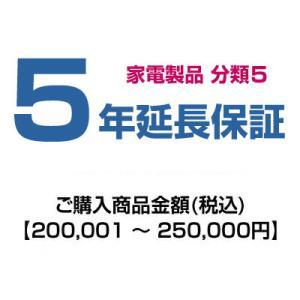 emonご購入者様対象 延長保証のお申込み(分類5)200001〜250000円|emon-shop