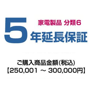 emonご購入者様対象 延長保証のお申込み(分類6)250001〜300000円|emon-shop