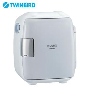 ツインバード ポータブル 2電源式 コンパクト電子保冷保温ボックス D-CUBE S HR-DB06GY グレー【100サイズ】|emon-shop
