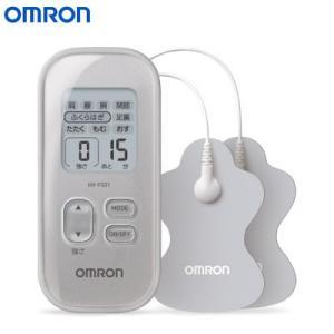 オムロン 低周波治療器 HV-F021-SL シルバー【60サイズ】|emon-shop