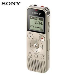 ソニー ICレコーダー ICD-PX470F-N ゴールド ボイスレコーダー【60サイズ】|emon-shop