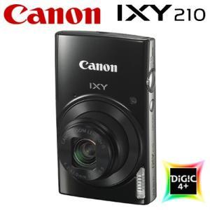 キヤノン コンパクトデジタルカメラ IXY 210 イクシー デジカメ コンデジ IXY210-BK ブラック 1795C001【80サイズ】|emon-shop