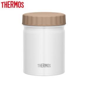 サーモス 500ml 真空断熱スープジャー JBT-500-WH ホワイト【60サイズ】 emon-shop